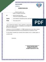 Informe Tecnico Poligonal Cerrada