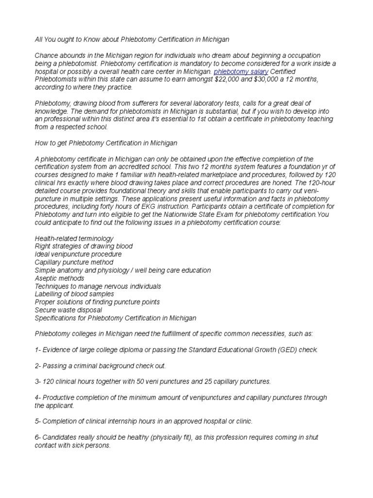 Phlebotomy Salary 17pdf Professional Certification Public Health