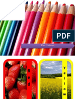 Colours Flashcards PPT