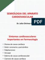 Semiologia Del Aparato Cardiovascular Curso de Post Grado de Semiologia