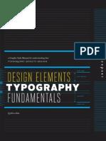 Design Elements, Typography Fundamentals