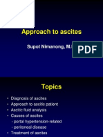 [Lecture] Approach to Ascites