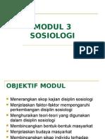 sains sosial bab 3
