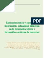 VARIOS - La Educacion Fisica y Campos de Interaccion