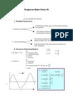 Ringkasan Materi Fisika Kelas XII