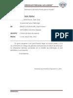 Informe Hidrologia