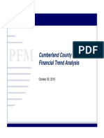 Cumberland County Early Intervention Program financiaL trend analysis