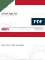 RedCommerce SAP HANA End-User Survey 2013