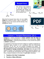 Lecture 3 Transport Phenomena