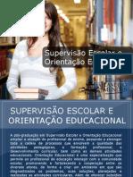 Pós-graduação em Supervisão Escolar e Orientação Educacional - Grupo Educa+ EAD