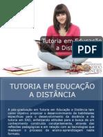 Pós-graduação em Tutoria em Educação a Distância - Grupo Educa+ EAD
