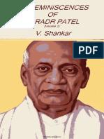 My Reminiscences of Sardar Patel (Vol.2) by Vishnu Shankar.pdf