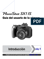 Canon sx1 manual