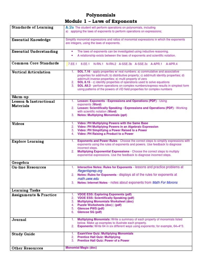 Workbooks order of operations worksheets pdf : Exponents And Multiplication writing numbers in expanded form ...