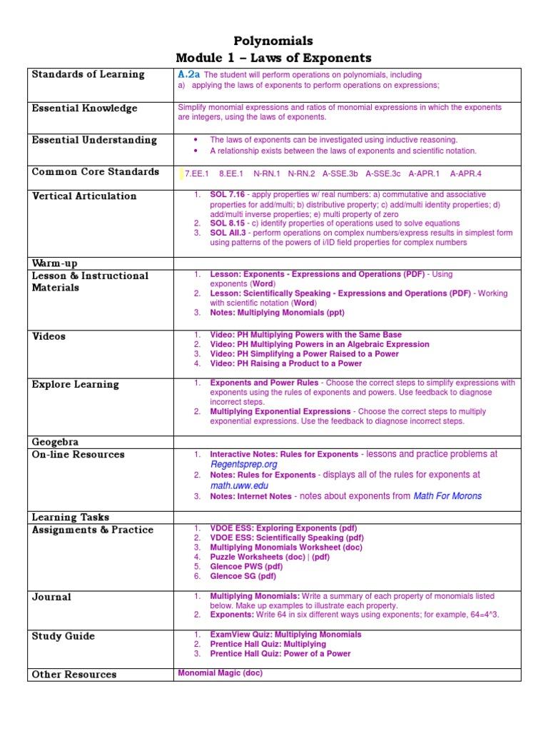 Laws Of Exponents Worksheet Pdf Livinghealthybulletin
