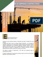 4.3 Administracion de Empresas Constructoras