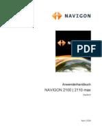 Navigon 2110 max Manual german
