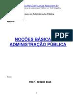 Nocoes Administracao Publica Sergio Dias