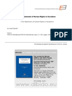 4.4 - Cavoski, Kosta - The Attainment of Human Rights in Socialism (en)