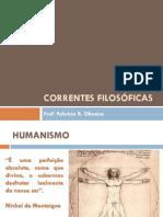 Correntes filosóficas-prof. Fabricio