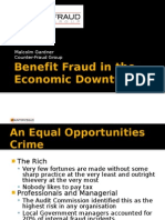Fraud in the Economic Downturn