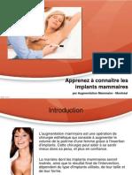Apprenez à connaître lesimplants mammaires