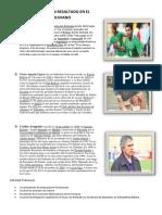 Que Jugadores Han Resaltado en El Futbol Boliviano