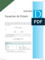 Fundamentos da Termodinâmica - Apêndice D (Equações de Estado)