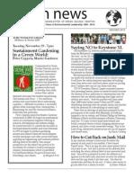 GreenNEWS Nov/Dec 2013