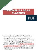 clase 6 ANOMALÍAS DE LA PLACENTA