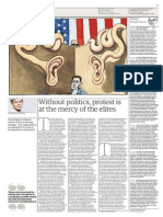Without politics, protest is at the mercy of the elites - Seumas Milne - The Guardian - Wednesday, 03. July 2013-2.pdf