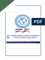 ICSRD 2013