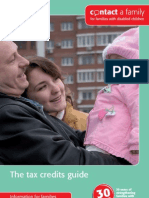 Contact a Family - The Tax Credits Guide