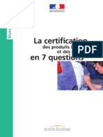 Certification en 7 Questions
