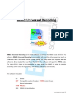 IMMO Universal Decoding 3.0 Manual