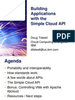 Building Applications with the Simple Cloud API Presentation