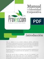 Manual de Identidad Corporativa Proveo_com