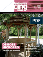 Fencing & Landscaping News - June 2009