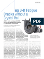 Predicting 3-D Fatigue Cracks Without a Crystal Ball