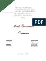 Trabajo de Econometria Modelos Dinamicos