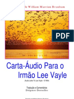 Carta Áudio Para o Irmão Lee Vayle
