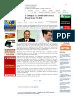 SiteBarra » Carlim da Dengue faz denúncia contra Luciano Pereira no TC-ES