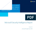 Microsoft Security Intelligence Report Volume 15