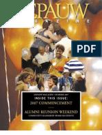 DePauw Magazine Summer 2007