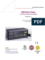 GE - M60 Motor Relay - Manual