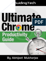 The ultimate Chrome Productivity Guide