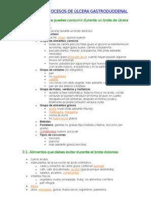 tratamiento nutricional para ulcera gastrica pdf