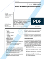 Nbr 10898 Nb 652 - Sistema De Iluminacao De Emergencia.pdf
