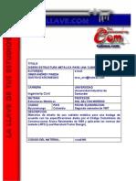 Memorias de diseño de una cubierta metálica para una bodega.pdf