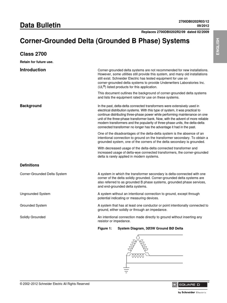 Corner Grounded Deltapdf Fuse Electrical Wire Fundamentals Of House Wiring Pdf